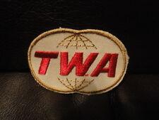 TWA Airlines Uniform Patch 3 x 2 - New  Original - Vintage