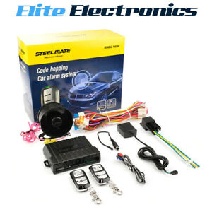 Steelmate 838G 1-Way Car Alarm System Supports Valet Mode