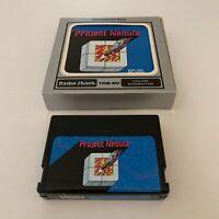 Project Nebula ~ Radio Shack TRS-80  Color Computer Game Program Pak W/ Manual