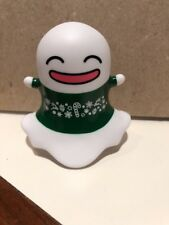 Snap Chat Ghost Plastic Figure Holidays Very Rare Collector Item