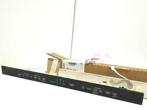 W10901795 10686310 W10852987 W10909039 Whirlpool Dishwasher Control Panel Black