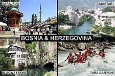 SOUVENIR FRIDGE MAGNET of BOSNIA HERZEGOVINA