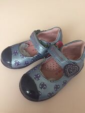 Agatha Ruiz de la Prada Girls Purple Leather Shoes Size 3.5UK/20EUR