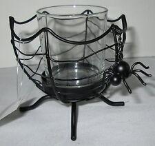 Yankee Candle 2013 Black Spider Accessories Halloween Votive Holder V/H #1290689