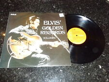 ELVIS PRESLEY - Elvis' Golden Records Volume 1 - 1970 UK Orange Label RCA LP