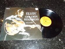 ELVIS PRESLEY - Elvis' Golden Records Volume 1 - 1970 UK Orange Label RCA LP