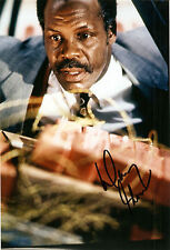 Leathal weapon Danny Glover original autographe grossfoto!