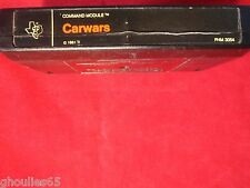 CARWARS TEXAS INSTRUMENTS CAR WARS COMMAND MODULE TI-99/4 TI 99 4