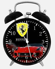 "Super Car Alarm Desk Clock 3.75"" Home or Office Decor W231 Nice For Gifts"