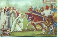 The Legend of St Frideswide AD727 Oxford Pageant 1907 Tuck Oilette postcard