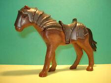 PLAYMOBIL 6006 CABALLO CON ARMADURA, HORSE, CHEVAL, CAVALO ESTADO NUEVO!