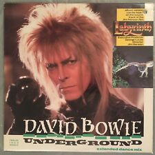 "DAVID BOWIE - Underground (Extended dance mix) 12"" Single (Vinyl LP) EMI V19210"
