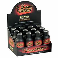 5-Hour Energy Shot, EXTRA Strength BERRY, 1.93 oz, 12 ct