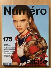NUMERO French 175 Août 2016 Alicia VIKANDER Michael KORS CECCALDI Mode Fashion