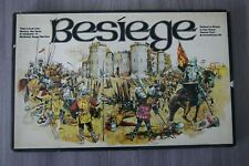 BESIEGE THE MEDIEVAL SIEGE WARFARE GAME ASL PASTIMES 1973 INCOMPLETE