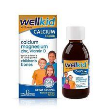 Wellkid SMART CALCIO LIQUIDO normale crescita cognitive Vitamina D3 4-12yrs