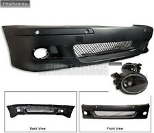 BMW e39 5 Series Front BUMPER M5 M look with foglights sport m package sport fog