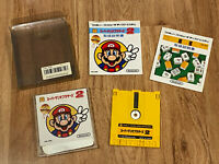 Super Mario Bros. Brothers 2+Mahjong(Boxed+Manuals) Nintendo Famicom Disk System