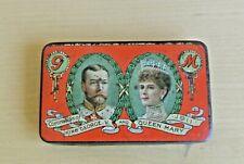 King George V and Queen Mary Coronation 1911 Cadbury Chocolate Tin