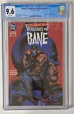 Batman Vengeance of Bane #1 CGC 9.6 White Pages 1st Print
