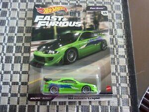 Hot Wheels Fast & Furious Premium Set Mitsubishi Eclipse (Fast Stars)