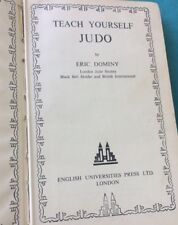 Teach Yourself Judo By Eric Dominy 1954 Vintage Book Martial Arts