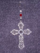 Waterford 2015 Annual Cross Ornament with Enhancer - 40005036 - Niew & Rare