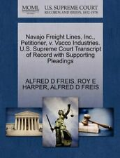 Navajo Freight Lines, Inc., Petitioner, v. Vacc, FREIS, D,,