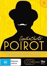 Agatha Christie's Poirot: Series 9 Nine DVD NEW Cards on the Table Region 4
