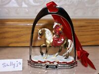 RARE 2004 BREYER Father Christmas Stirrup Ornament, Horse - 6th in series,  MINT
