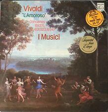 PHILIPS 9500 301-VIVALDI-L'AMOROSO CONCERTOS-I MUSICI-ORIGINAL VINYL LP-IMPORT
