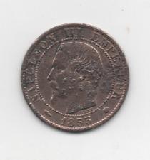 5 cents NAPOLEON lll 1853 MA en TTB