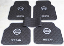 5Pcs Waterproof Rubber Car Floor Mats Grey Nissan Universal for Pulsar Murano
