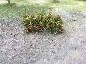 """MP Scenery Products 75149 - N Scale - Apple Vines - 5/8"""" Height, 16/pk"""