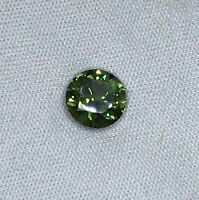 Natural Golden Green Sapphire Round 2.24ct
