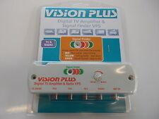 Vision Plus VP5 Digital Amplifier & Signal Finder 4 Caravan Television & Radio
