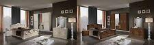 Nena italian bedroom set with 4 door wordrobe available in 2 colours