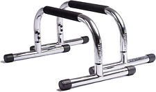 Fitness Parallette Push Up Bars Dip Station Stand Perfect Home Garage Gym Exerci