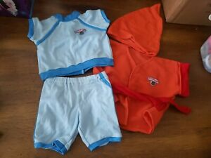 TEDDY RUXPIN clothes outfit LOT #1