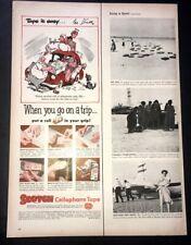 Life Magazine Ad 3M SCOTCH CELLOPHANE TAPE 1952 Ad A11
