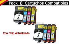 8 tinta cartuchos para HP 920 XL OfficeJet 6000 W se 6500 a plus 7000 se 7500 a