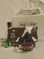 "Department 56 Snow Village~""SKATE and SKI SHOP"" #5467-4 -Christmas"