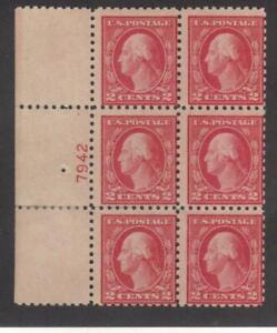 Scott Scott# 463 beautiful block of Washington's catalog value $125.