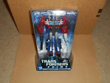 TRANSFORMERS PRIME OPTIMUS PRIME VOYAGER CLASS FIRST EDITION TRI LOGO