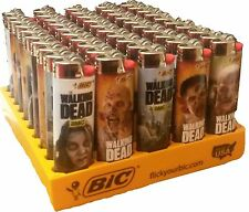 Wholesale Bic Lighters the Walking Dead, Licensed 50 Pieces Assorted
