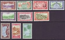 Cook Islands 1949 SC 131-140 MH Set