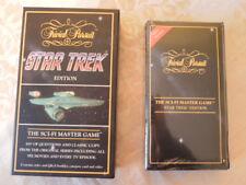 Vintage Star Trek Trivial Pursuit VHS Video Edition1995 Cassette sealed. Telstar
