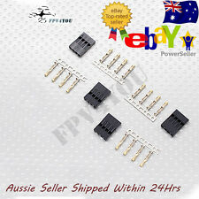 JWT connectors 4 pin 4 set jst FPV futaba JR VTX Gimbal OSD RC Servo FC Board