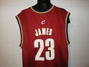 Reebok Lebron James #23 Cleveland Cavaliers Jersey XL