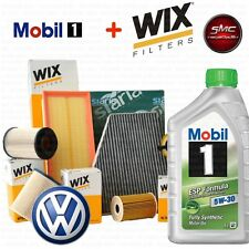 KIT TAGLIANDO OLIO + 4 FILTRI WIX VW GOLF VII (5G1, BE1) 2.0 GTD KW 135 CV 184